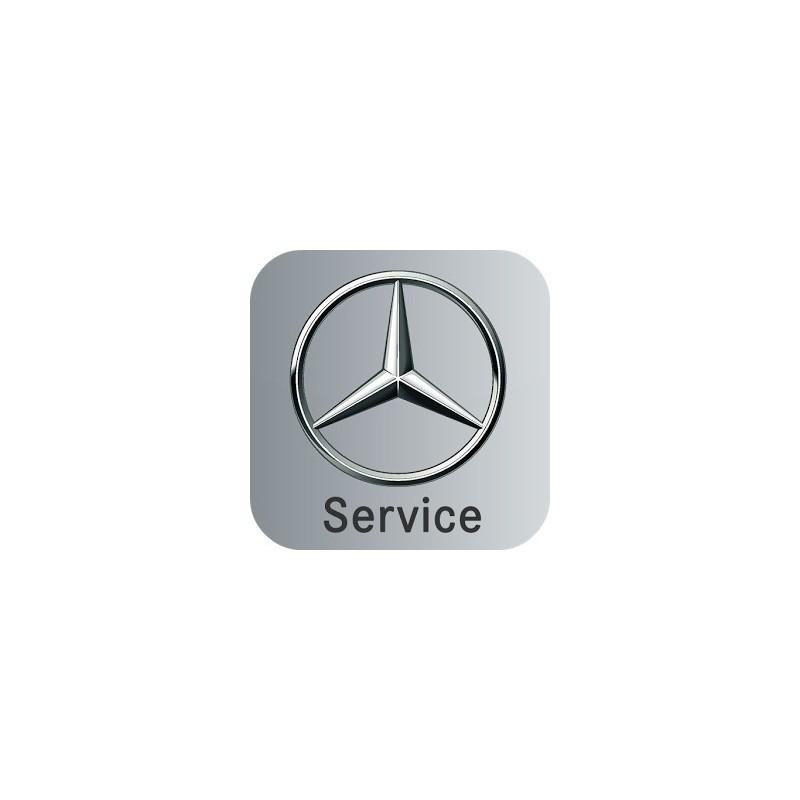 Mercedes - fonction d'entretien via le volant ASSYST PLUS