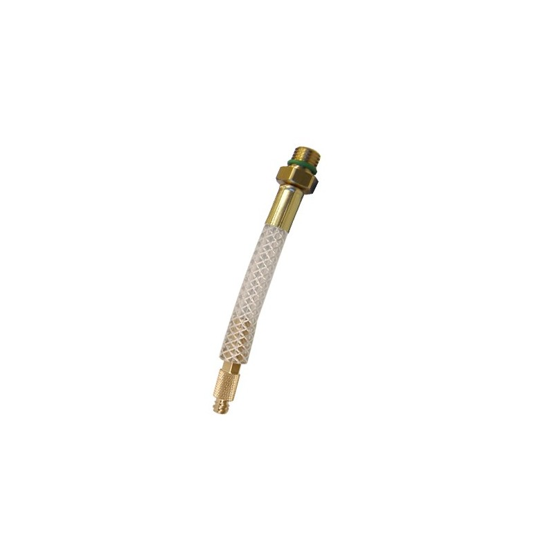 Raccord Tube avec valve pour traceur en seringue