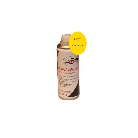 Huile PAG ISO 46 R134a  (250ml) AVEC TRACEUR UV