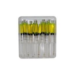 Traceur pour compresseur hybride en seringue 10ml