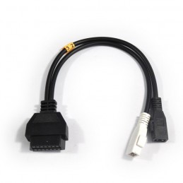 Adapter cable 2x2 for OBDI to OBD2 Audi WV Seat Skoda