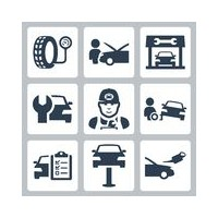 Service / entretien rapide matériel automobile